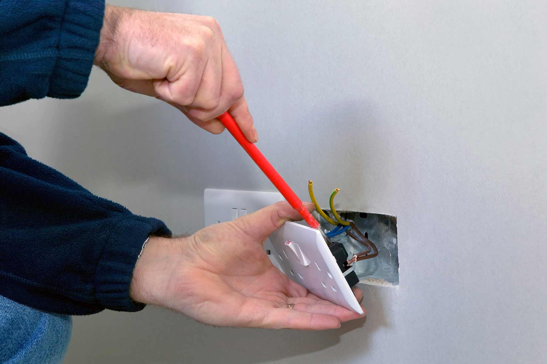 Our electricians can install plug sockets for domestic and commercial proeprties in Fairlop and the local area.
